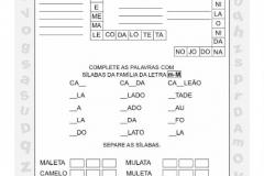 Atividade de alfabetização para imprimir14