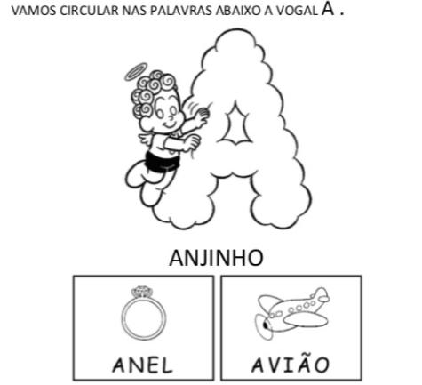 Atividades Com Vogais Otimas Atividades Para Imprimir