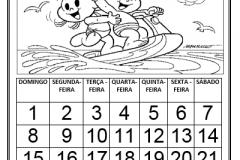 calendario-para-completar-mes-de-julho