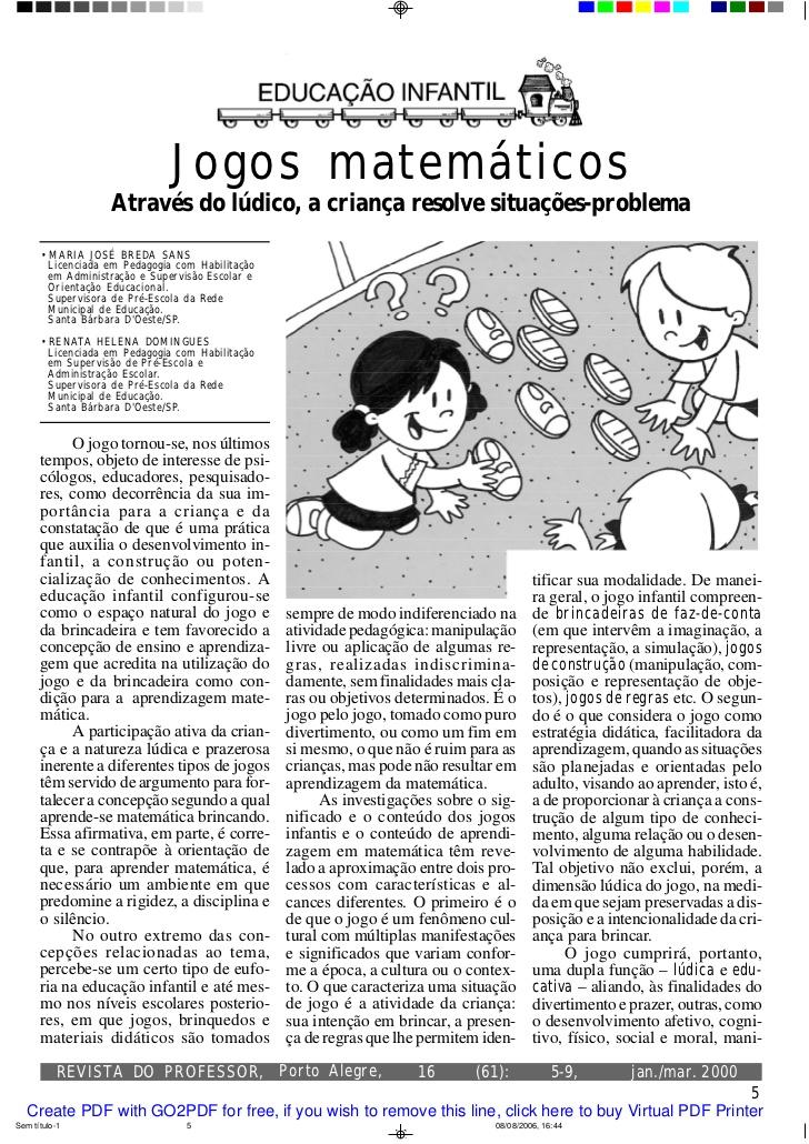 Muitas vezes Matemática para educação infantil - MAIS DE 300 ATIVIDADES JW68