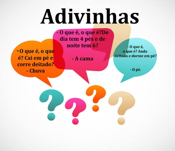 Preferência Adivinhas Folclóricas - MUITAS ADIVINHAS DIVERTIDAS AQUI TS88