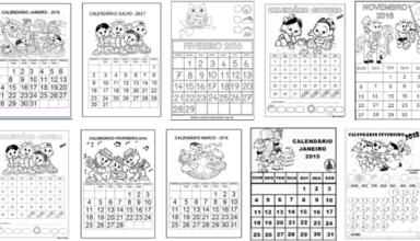 Plano de aula mensal educação infantil