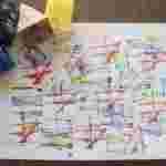 Atividades de artes - Criar design com linhas
