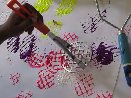 Atividades De Artes Para Educacao Infantil Com Tinta Guache